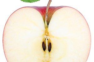 cut half an Apple