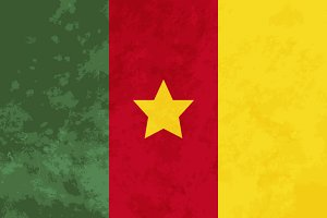 True proportions Cameroon flag