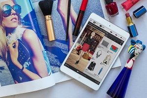 fashion tablet magazine
