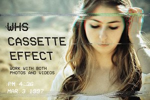 VHS Effect for Photos & Videos