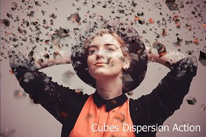 Cubes Dispersion Action