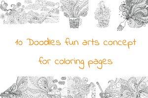 10 Fun Art Doodles