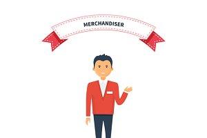 Merchandiser Man Competence
