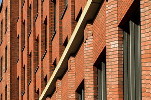 Berlin Architecture Brick Facade