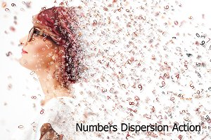 Numbers Dispersion Action