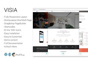 Visia - Creative Multipurpose Theme