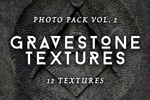Gravestone textures photo pack