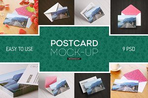 Greeting card / Postcard MockUp