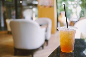 Iced tea for summer drink
