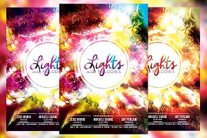 Lights and Melodies Flyer