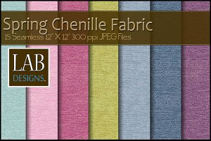 15 Spring Chenille Fabric Textures