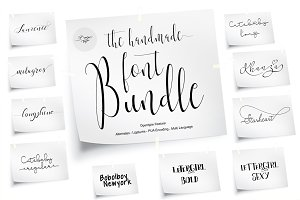 Font Bundle with Delicious Script