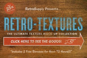 RetroTexture Megabundle | PSD Pack