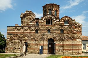 Old church in Nessebar, Bulgaria