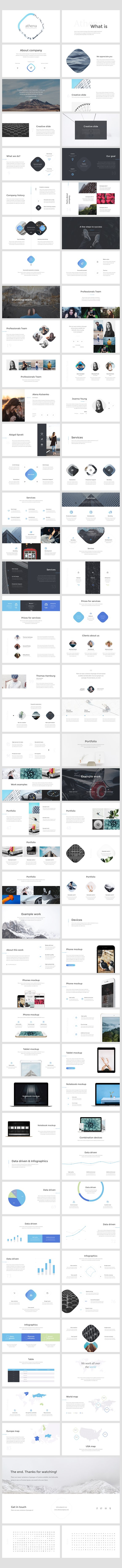 Athena Keynote Presentation in Presentation Templates - product preview 7