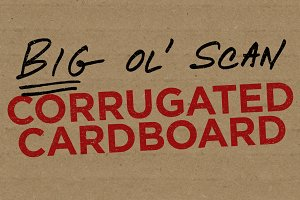 Corrugated Cardboard — Big Ol' Scan