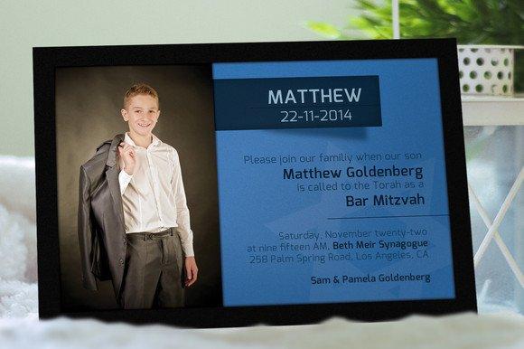 bar mitzvah invitation invitation templates creative market