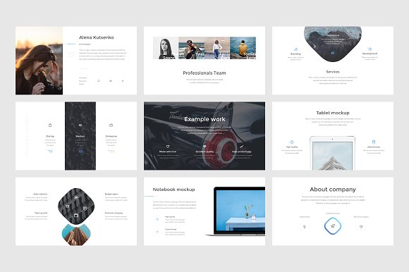 Athena Keynote Presentation in Presentation Templates - product preview 6