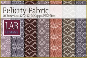 18 Seamless Felicity Fabric Textures