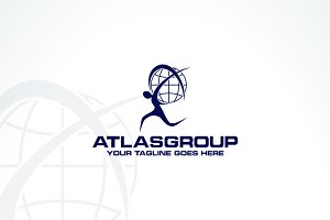 Atlas Group | Logo Template