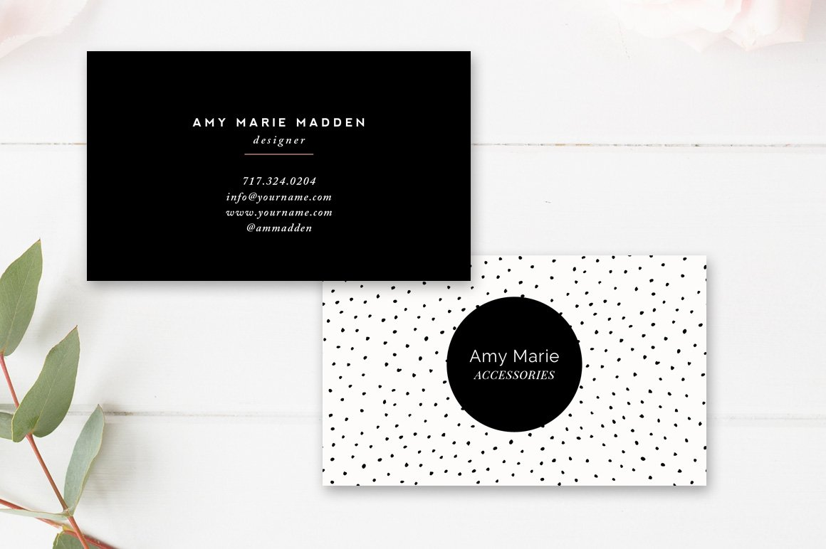 Business Card Template ~ Business Card Templates ~ Creative Market