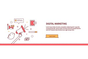 Web Page About Digital Marketing