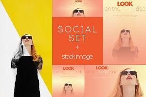Social Media Set Z6089