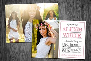 Graduation Announcement Template 01
