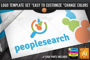 Social Media Find People Search Logo