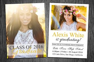 Graduation Announcement Template 03