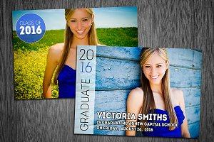 Graduation Card Template Photo 05