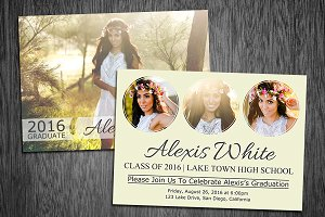 Graduation Announcement Template 06
