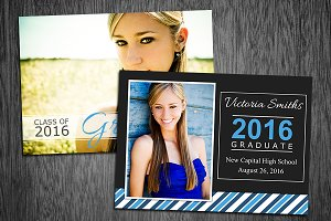 Graduation Invitation Template 08