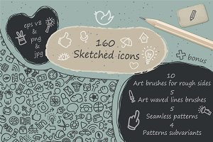 Vector bundle for social sketches