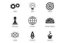 Business process icons
