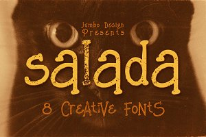 Salada - Funny Style Font