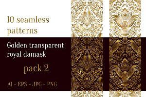 10 royal damask patterns Pack 2