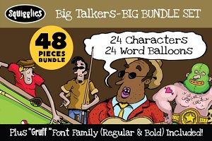 Big Talkers BIG Bundle Set