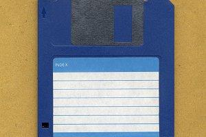 Magnetic floppy disc