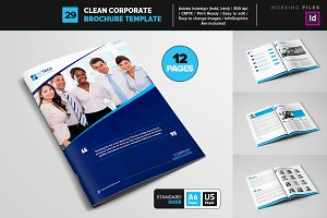 Clean Corporate Brochure Template 29