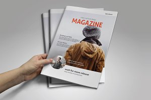 Corporate Magazine Template