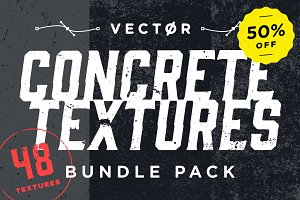 50% OFF: Concrete Textures Bundle