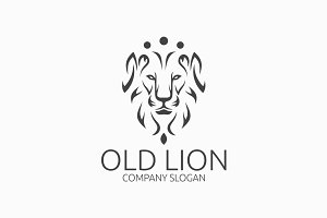 Old Lion Logo