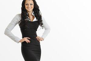 European young woman