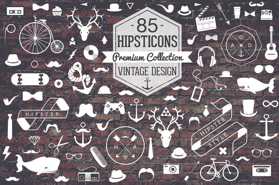 50 hipster design resources for your next creative project
