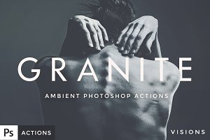 GRANITE - Ambient Photoshop Actions