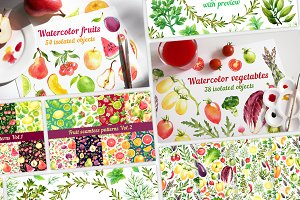 30% Off! Fruits + Vegetables + Herbs