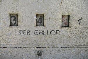 34¢ a gallon
