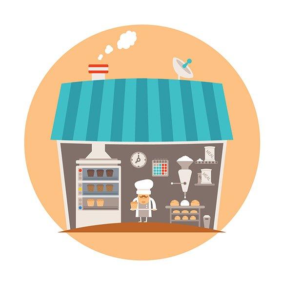 Bakery or bakeshop