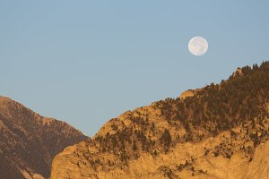 Mountain scenes in Colorado